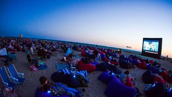 cinema beach